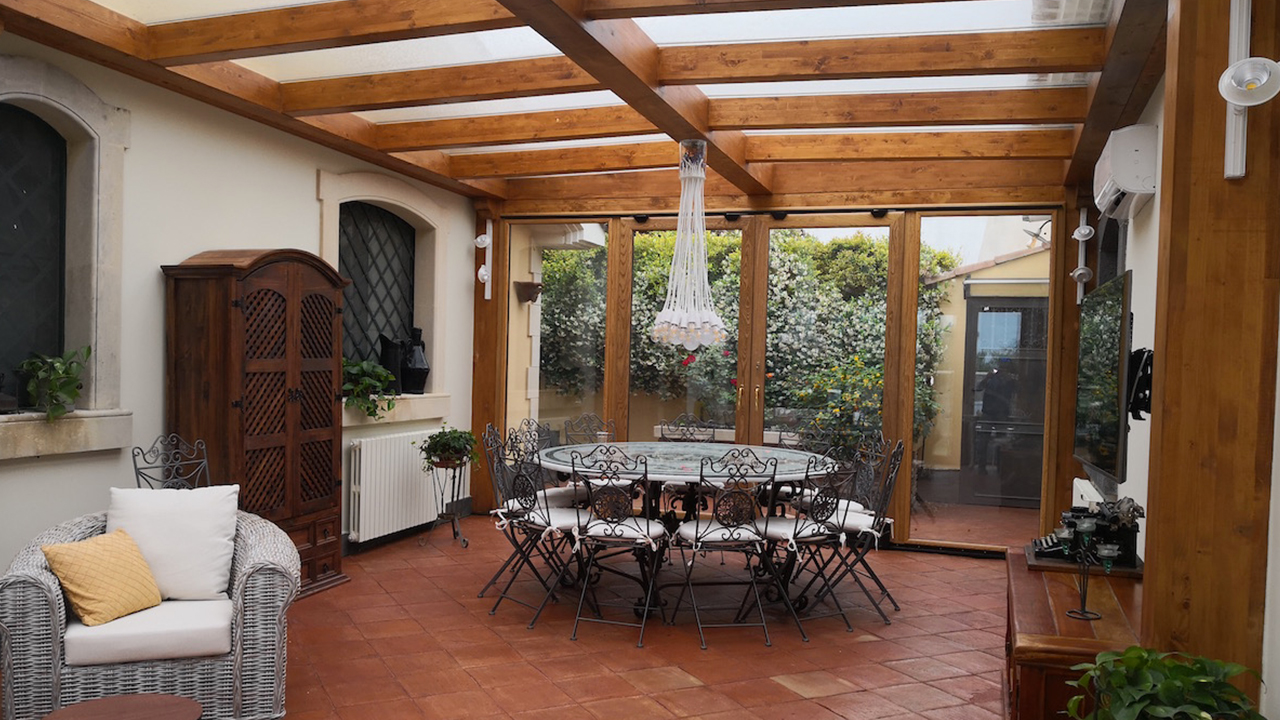 Verande in legno expotorrisi for Design d interni
